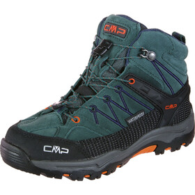 CMP Campagnolo Rigel WP Chaussures de trekking mi-hautes Enfant, jungle blue